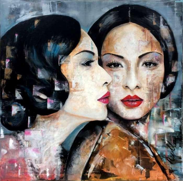 Hullan Bea - Festményeim